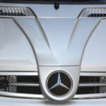 Front Grille F1 river silver Smart Fortwo 450