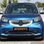 Trim strip for under grille in color sapphire blue for Smart Fortwo 453
