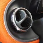 Chrome interior accessories Smart Fortwo 453