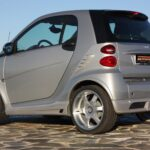 Body Kit Set exterior rear for Smart Fortwo 451 in color River Silver