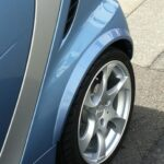 Fender flares rear for Smart Fortwo 451 in desired color
