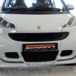Front Spoiler for Smart Fortwo 451 in color crystal white