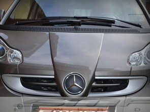Front end grille F1 McLaren for Smart Fortwo 451 in desired color