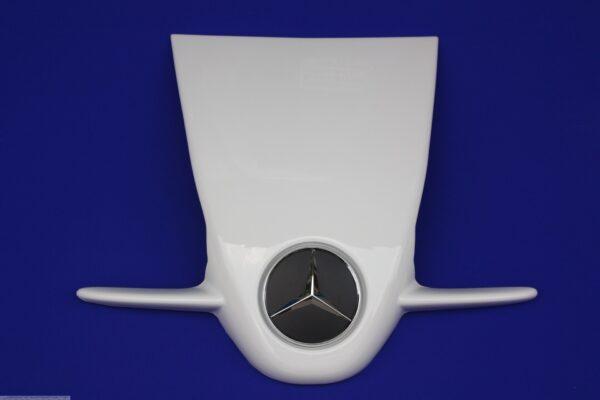 Frontgrille F1 Mc Laren crystal white for Smart For2 451