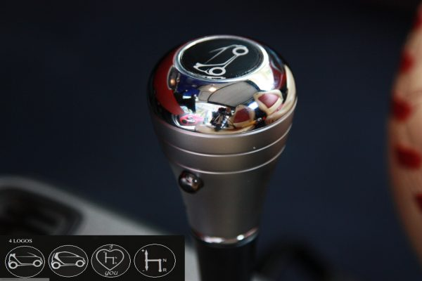 Gear Shift Knob for Smart Fortwo 450 & 451 and Smart Roadstar 452 in chrome