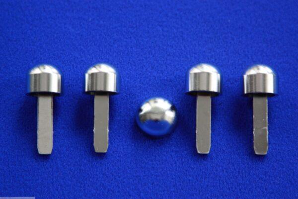 Knobs Set chrome matt only Smart Fortwo 450