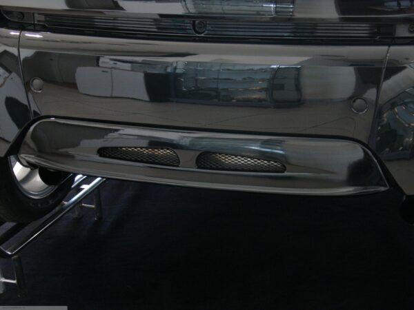 Rear spoiler in color black for Smart Fortwo 450