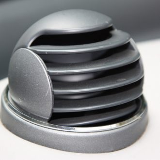 Chrome Rings Set for ventilation balls Smart Fortwo 450