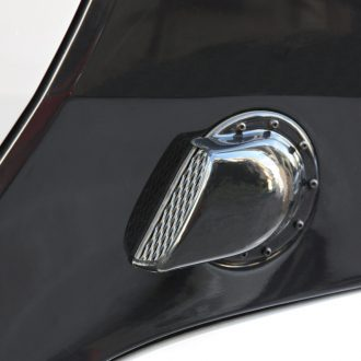side air intake scoop black smart fortwo 450