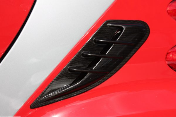 Side air scoop for Smart Fortwo 451 in look carbon
