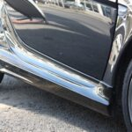 Side skirts for Smart Fortwo 451 in color deep black