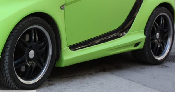 Side skirts for Smart Fortwo 451 in desired color
