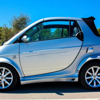 Side skirts Smart Fortwo 450