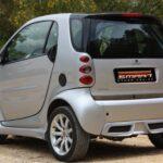 Smart Body Kit rear for Smart Fortwo 450