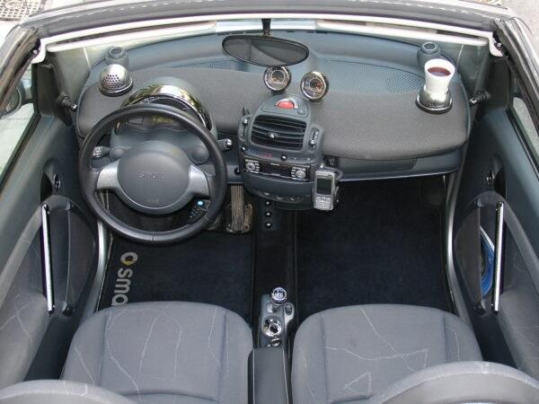 Smart Fortwo 450 accessories interior