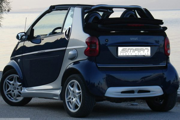 Smart Fortwo 450 tuned back scaled from Smart Power Design