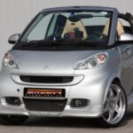 Body Kit Set for Smart Fortwo 451 in color River Silver