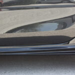 Side skirts for Smart Fortwo 453 in color black acrylic